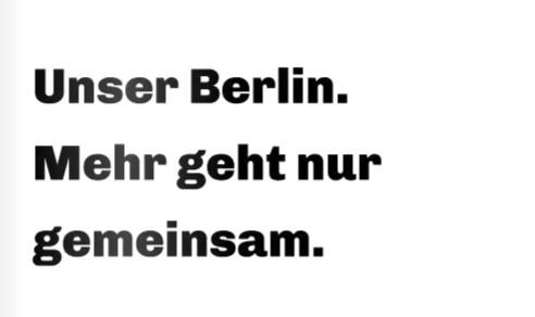 Berlin-Plan der CDU Berlin